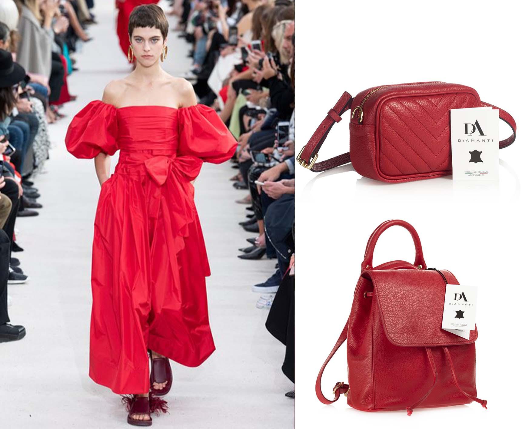 Valentino, primăvară-vară 2019 și borseta Dalmazia și rucsacul Giuseppe