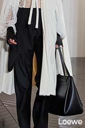 geantă minimalistă Loewe