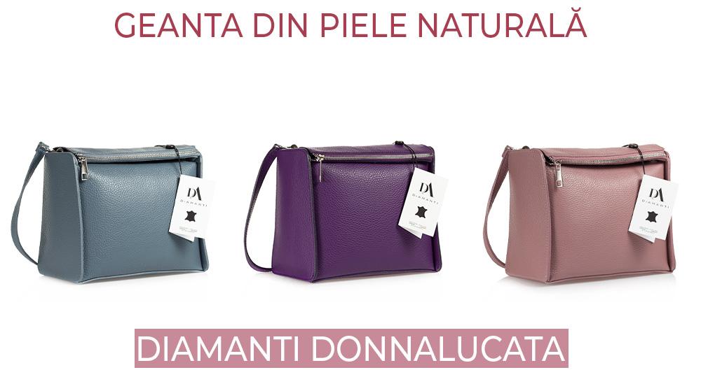 Geanta din piele naturala DiAmanti Donnalucata