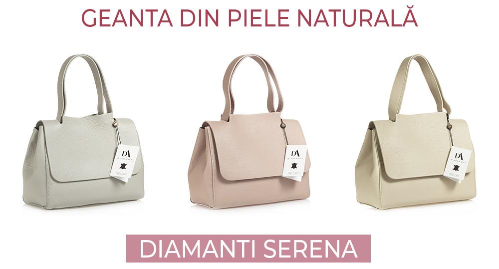 Geanta din piele naturala DiAmanti Serena
