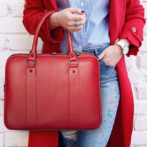 geanta din piele naturală DiAmanti Savona