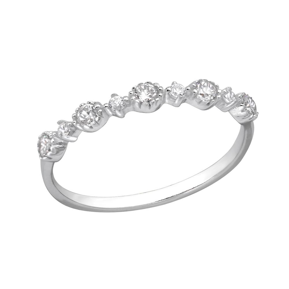 Inel din argint cu zirconii DiAmanti DIA29239