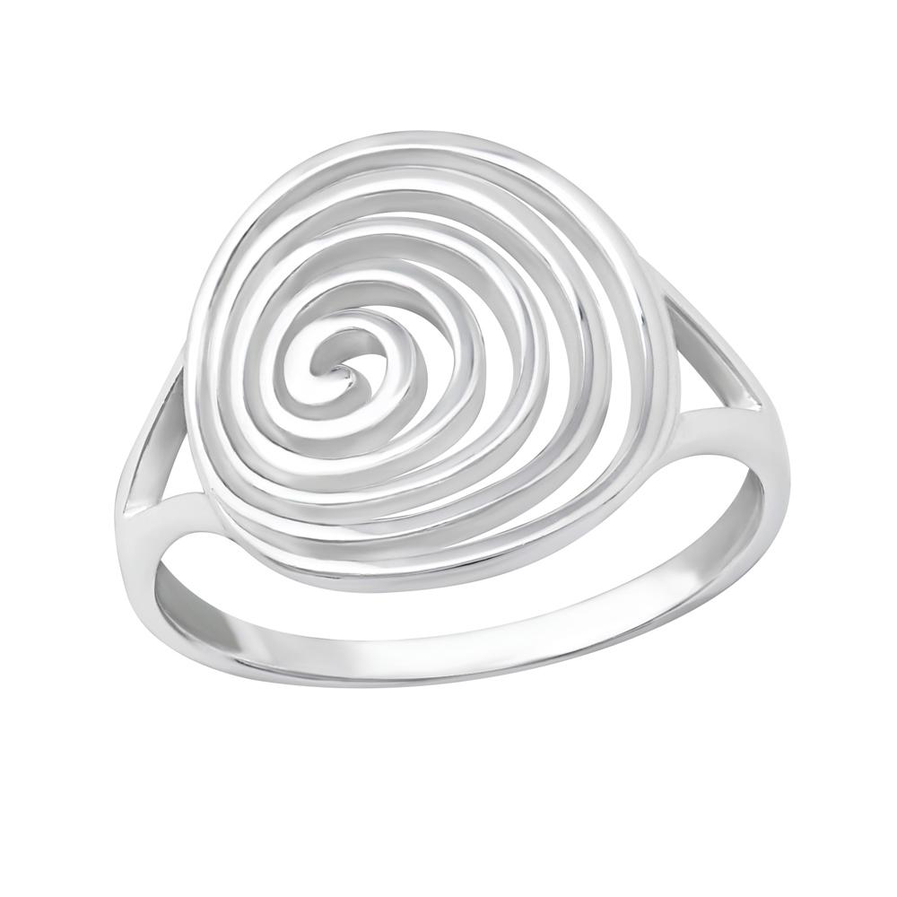 Inel din argint model spirala DiAmanti DIA36160