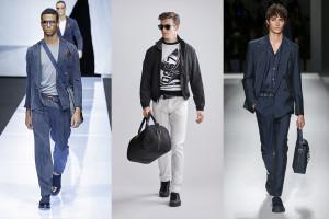 4 tendințe în moda genților pentru bărbați primăvară/vară 2019
