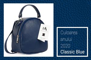 Culoarea Pantone a anului 2020 - Albastrul clasic